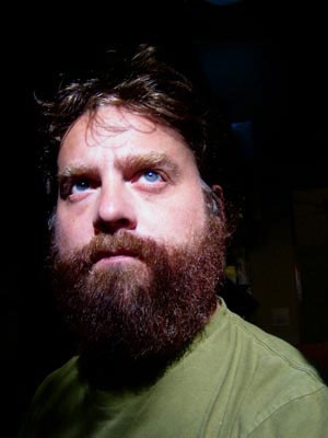 zach galifianakis. This may or may not be Brandon
